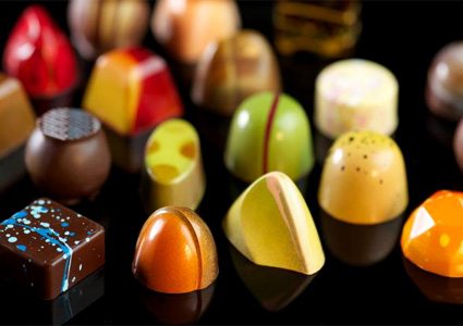 Бои за шоколад с гланц