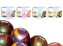 Ирисови (дъгоцветни) бои на прах
