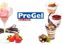 Pregel - bases, stabilizers, flavouring pastes, arabeschi, toppings etc.