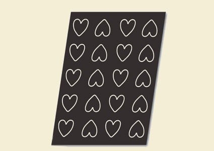 Flexipan форма Заоблени сърца