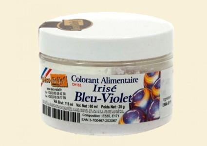 Ирисова (дъгоцветна) боя на прах - СИНЬО-ВИОЛЕТОВА CH155