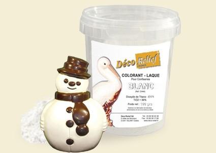 Боя за шоколад с гланц - БЯЛА CH44