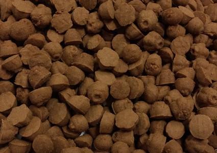 КРЪНЧИ 6.5-8мм, бисквитки какао