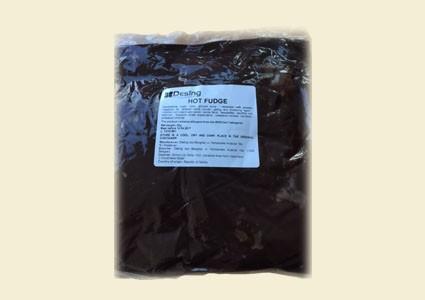 HOT FUDGE - chocolate topping