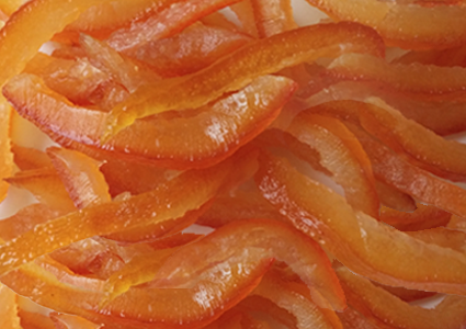 ORANGE PEELS in strips